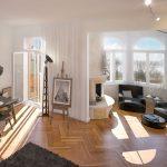 Villa Bischoff, Wohnung OG, Bremen